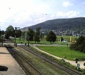 Blumberg-Zollhaus Railway webcam