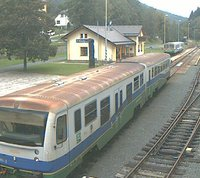 Kouty nad Desnou Railway webcam