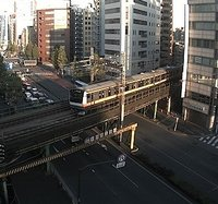 Tokyo Chiyoda Railway webcam