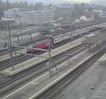 Aarau Railway station webcam