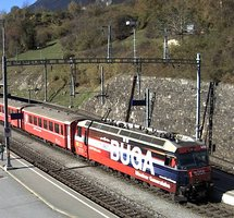 Filisur Railway Station webcam
