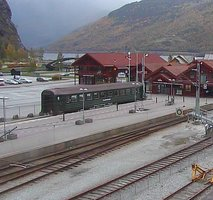 Flam Railway Station webcam