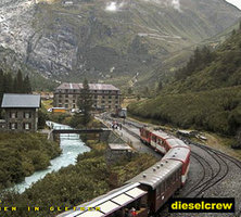 Gletsch Railway Station webcam