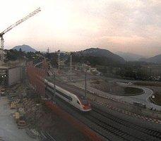 Gotthard Vezia Railway webcam