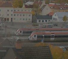 Lindesberg Railway Station webcam