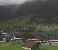 Lungern Station webcam