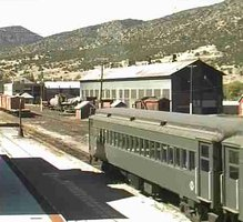 Nevada Northern Railroad Museum webcam