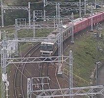 Nishi-Biwajima Railway webcam
