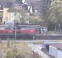 Friedrichshafen Lowental Station webcam