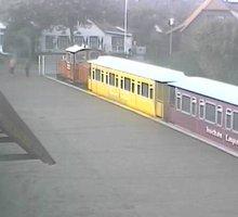 Inselbahn Langeoog Station Webcam