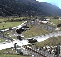 Oberwald Railway Station Webcam