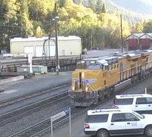 Dunsmuir Railroad Station webcam