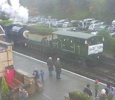 Lakeside Railway station webcam
