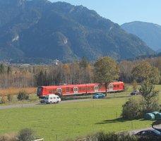 Unterammergau Bahn webcam