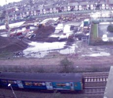 Cardiff Railway webcam