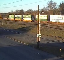 Cresson Railroad webcam