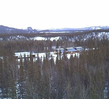 Denali Alaska Railroad Webcam