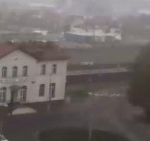 Nowy Tomysl Railway Station webcam