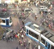Amsterdam Koningsplein Light Rail webcam