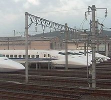 Hakata Shinkansen Depot webcam