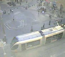Jerusalem Light Rail webcam