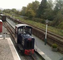 Welsh Highland Heritage Railway webcam