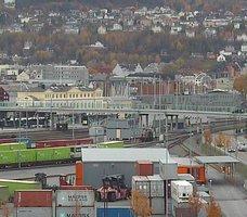 Trondheim Rail Freight Webcam