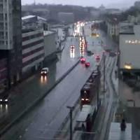 Bergen Danmarksplass Light Rail webcam