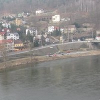 Decin Railway webcam