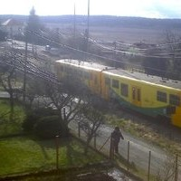 Mnisek pod Brdy railway webcam