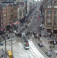 Amsterdam Dam Square webcam