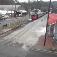 Grat Smoky Mountains Railroad webcam