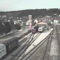 Bahnhof Munsingen Railway Station webcam
