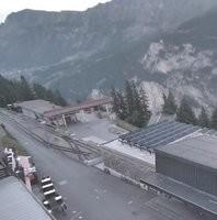 Murren Railway Station webcam
