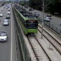 Bursa Light Rail Bursaray webcam