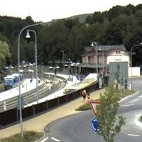 Tanvald Railway Station webcam