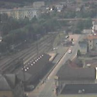 Zeleznici Vsetin Railway Station webcam