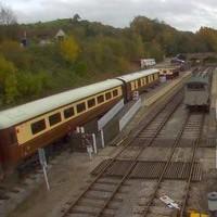 Ecclesbourne Valley Heritage Railway webcam