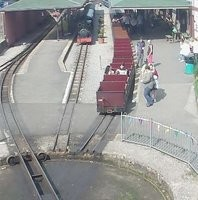 Ravenglass & Eskdale Railway webcam