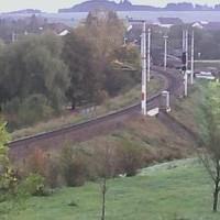 Bahn Schwarzenau Railway webcam