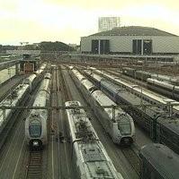 Stockholm Hagalund Depot webcam