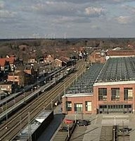 Bahnhof Lingen-Ems Railway station webcam