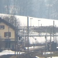 Bahnhof Nidfurn-Haslen Railway Station webcam
