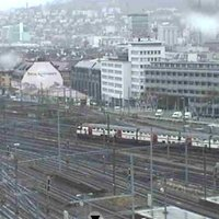 Hauptbahnhof Zurich Main Railway Station webcam