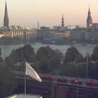 Hamburg Altona bahn railway webcam