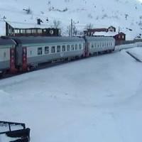 banen Riksgransen railway webcam