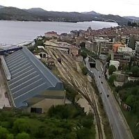 Zeljezniki Sibenik Railway station webcam