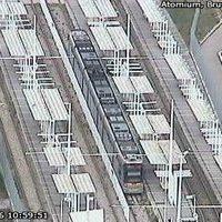 Brussels Heysel Light Rail webcam