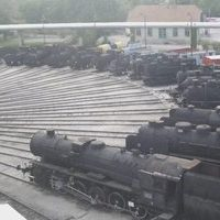 Hungarian Railway History Park webcam