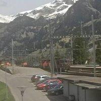 Bahnhof Kanderstag Railway Station webcam